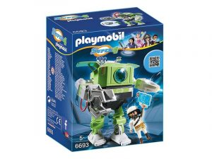 Игровой набор PLAYMOBIL Супер 4 Робот Клеано 6693pm