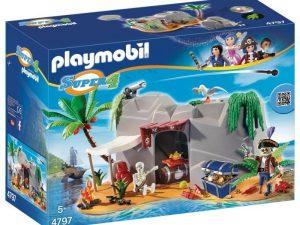 Игровой набор PLAYMOBIL Супер 4 Пещера Пирата 4797pm