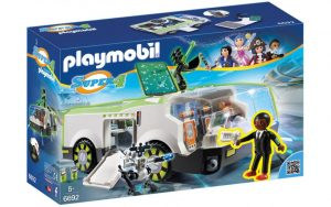 Игровой набор PLAYMOBIL Супер 4 Техно Хамелеон с Джином 6692pm