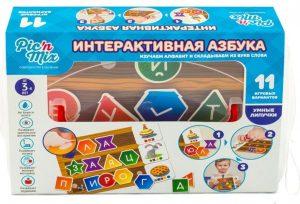 Настольная игра Pic'n mix Интерактивная Азбука 112041
