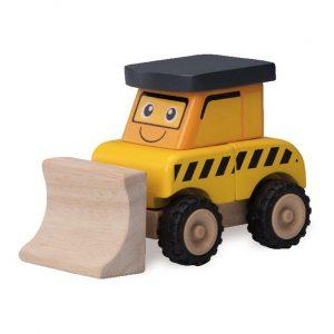 Деревянная игрушка конструктор Wonderworld Бульдозер WW-4078
