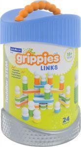 Магнитный конструктор для малышей Guidecraft Better Builders Grippies Links 24 детали G8318