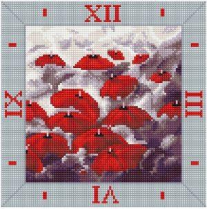 Алмазные часы Color Kit Капризные зонты 7303006-Р