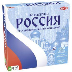 Настольная игра Tactic Необъятная Россия 53784