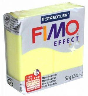 FIMO effect Глина полимерная 57 г Полупрозрачный желтый 8020-104