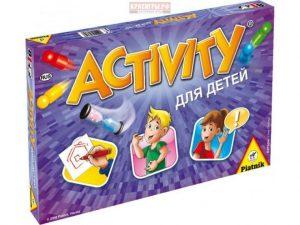 Настольная игра Piatnik Activity Вперед для детей 793394
