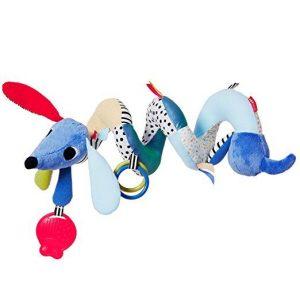 Развивающая игрушка-спираль на коляску/кроватку Собачка SH305250