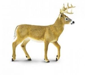 Фигурка XL Safari Ltd Белохвостовый олень 113589