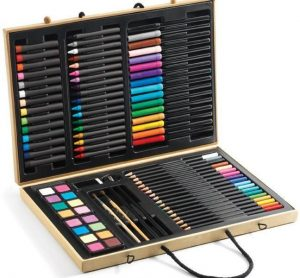 DJECO Большой набор карандаши фломастеры краски 09750