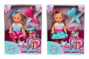 Кукла Evi со стильной собачкой 12 см 5730944