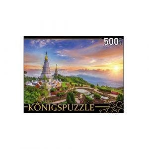 Пазлы Konigspuzzle Таиланд Священная гора ДОЙ-ИНТАНОН 500 элементов ГИК500-8312