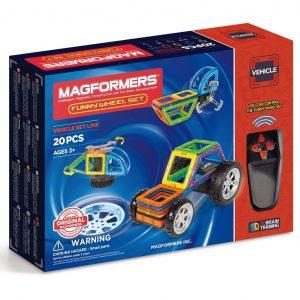 Магнитный конструктор Magformers Funny Wheel Set 707012