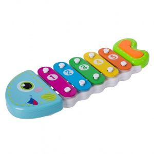 Игрушка развивающая пластина ксилофон BONDIBON Рыбка 28