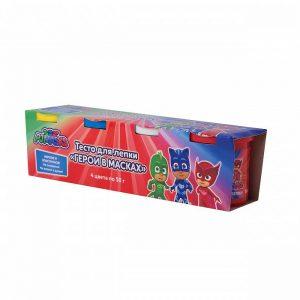 Тесто для лепки Герои в масках 4 цвета по 50 г 33353