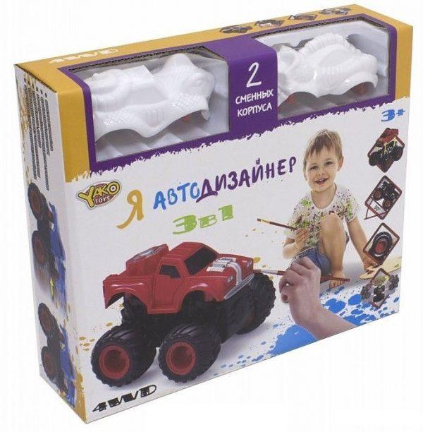 Я Автодизайнер Игровой набор 3 в 1 М6540-7