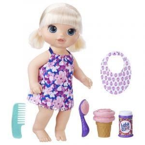 Кукла Baby Alive Малышка с мороженным С1090