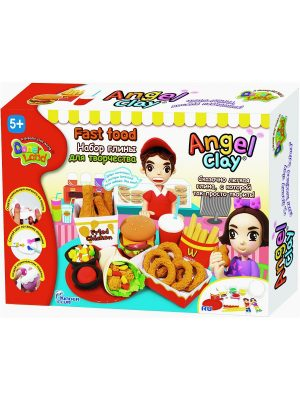 Игровой набор для творчества Angel Clay Fast food AA10101