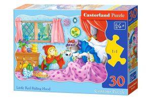 Пазл Castorland Красная шапочка 30 деталей В-03655 4+