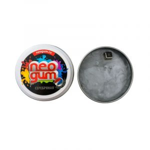 Жвачка для рук Неогам Магнитная сила серебро NGM002
