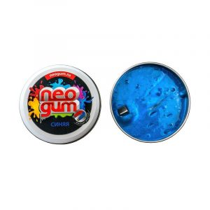 Жвачка для рук Неогам Магнитная сила синий NGM002
