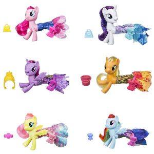 Игровой набор Hasbro My Little Pony Мерцание Пони в волшебных платьях С0681