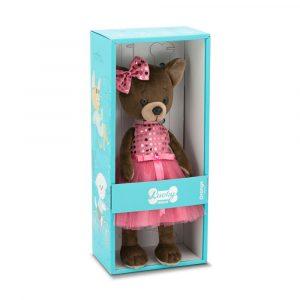 Мягкая игрушка Lucky Kiki Малиновый блеск LD010