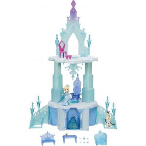 Игровой набор Disney Frozen Холодное сердце Большой замок для маленьких кукол В6253