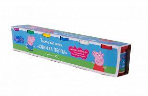 Набор для творчества Peppa Pig Тесто для лепки Свинка Пеппа 6*50 гр 33360