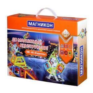 Детский конструктор Магникон Карусель МК-46