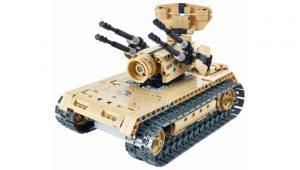 Конструктор на радиоуправлении Evoplay Anti Aircraft Tank 457 деталей СМ-203