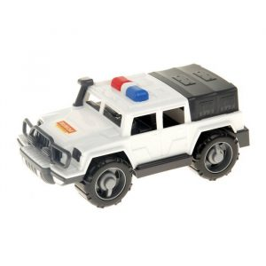 Автомобиль джип патрульный Защитник №1 63601