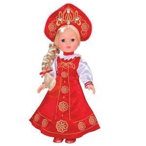 Кукла Карапуз 33 см озвученная в русской одежде RUSSIAN-100-RU