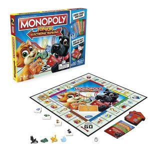 Настольная игра Hasbro Games Монополия Джуниор с картами Е1842