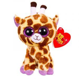 Мягкая игрушка ABtoys Жираф коричневый М0030