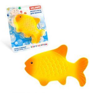 Мини коврик для ванной комнаты Золотая рыбка на присосках К6-9908