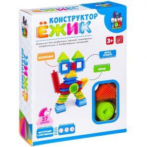 Конструктор BONDIBON Ежик Кот 37 деталей BOX ВВ2570