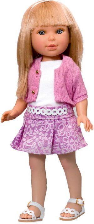 Кукла Vestida de Azul Паулина блондинка с челкой Лето Городской Шик PAU-820