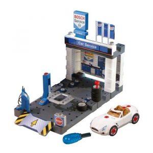 Автосервис Klein с мойкой и машиной для сборки Bosch 8647