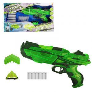 Мегабластер ABtoys в наборе с 14 мягкими снарядами и аксессуарами РТ-00806