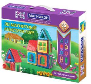 Детский конструктор Магникон Кукольный домик МК-35