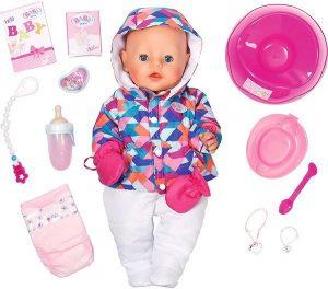 Интерактивная кукла BABY born Зимняя пора 43 см 825-273