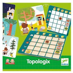 Настольная игра логическая DJECO Топологик 08354
