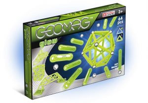 Магнитный конструктор GEOMAG Glow 64 детали 336