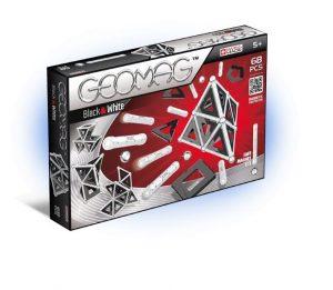 Магнитный конструктор GEOMAG Black&White 68 деталей 012