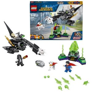 Игрушка LEGO Super Heroes супермен и Крипто объединяют усилия 76096