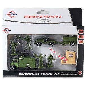 Игрушка WinCars набор военной техники 30815В