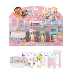 Игрушка BABY Secrets Набор с детским стульчиком блистер 930-175