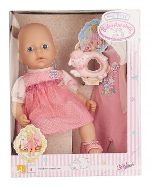 Интерактивная кукла BABY Annabell с дополнительным набором одежды 36 см 700-518