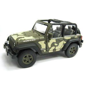 Игрушка Welly модель машины 1:34-39 Jeep Wrangler Rubicon 42371