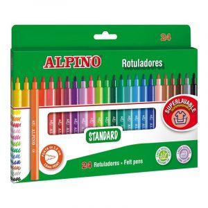 Фломастеры STANDARD 24 цветов AR001003